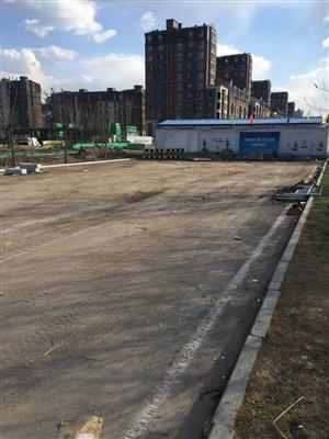 北海路地道修建封闭南端垃圾清理