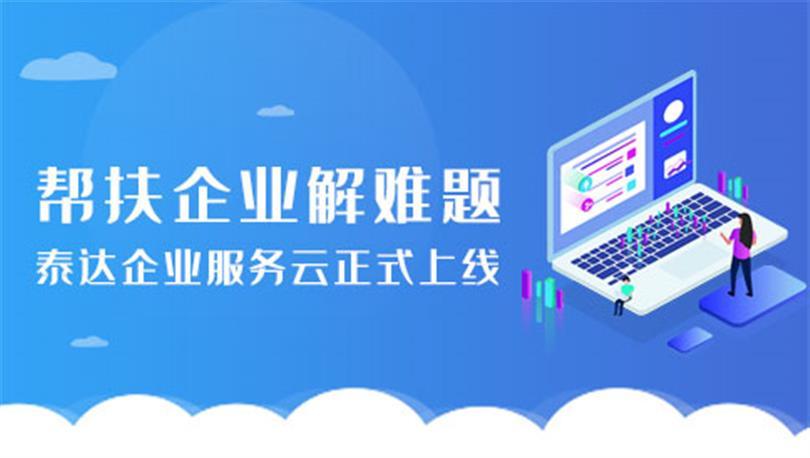 帮扶企业解难题 泰达企业服务云正式上线